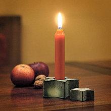 Svietidlá a sviečky - Svietnik v tvare hviezdy - 7432307_