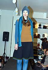 Sukne - DARMELA- rozšířená černá sukně ke kolenům - 7429814_