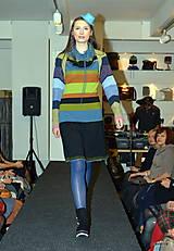 Sukne - DARMELA- rozšířená černá sukně ke kolenům - 7429818_