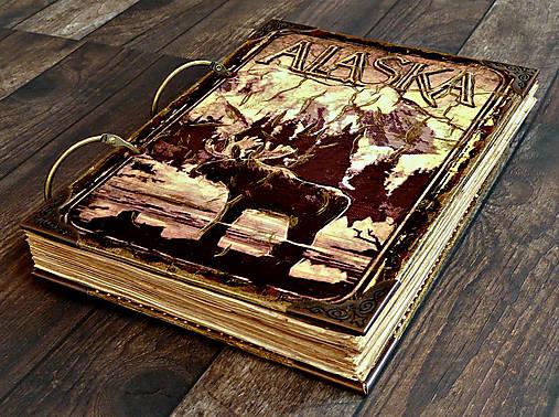 ALASKA-traveler diary-cestovateľský denník,diár cestovateľa,cestovateľský zápisník