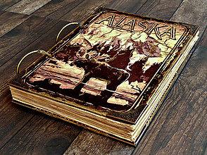 Papiernictvo - ALASKA-traveler diary-cestovateľský denník,diár cestovateľa,cestovateľský zápisník - 7432926_