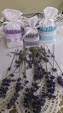 Úžitkový textil - Bylinkové vrecúška - 7431690_