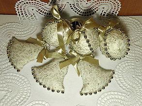 Dekorácie - Zlaté Vianoce - 7433720_