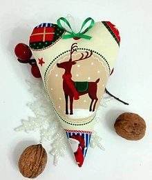 Dekorácie - ♥ vianočný sobík - 7440671_