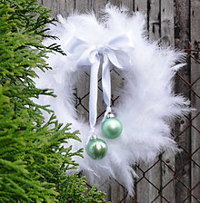 Dekorácie - Vianočný bělounký - 7437740_