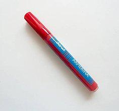 Farby-laky - Fixka na PORCELÁN bez vypaľovania, Darwi, rôzne farby (červená) - 7439326_