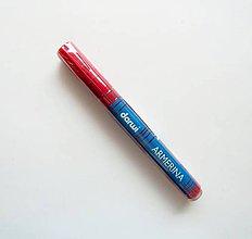 Farby-laky - Fixka na PORCELÁN bez vypaľovania, Darwi, rôzne farby (karmínová) - 7439331_