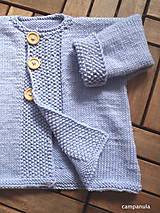 Detské oblečenie - Kabátik z merina - 7438291_