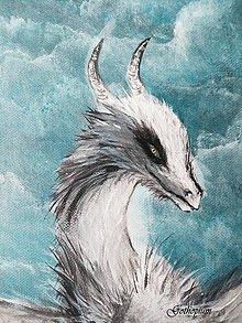 Obrazy - Ice Dragon - 7439934_