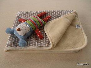 Úžitkový textil - Vlnená deka ovčie rúno 100% merino Top Hviezda - 7440897_