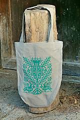 Nákupné tašky - Taška Strom života svetlozelený - 7438113_