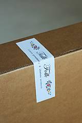 Krabičky - Tyrkysovo-šedá škatuľka - 7441002_