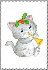Papiernictvo - Vianočné mačiatko - 7439046_