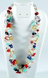 Náhrdelníky - Čakrový náhrdelník - 7444620_