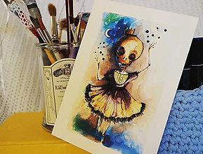 Grafika - Dušička veľmi živá/Aj tak budem baletka - 7442438_