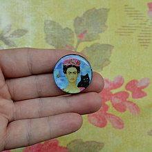 Odznaky/Brošne - Frida n.2 brož- průměr 25 mm - 7444767_