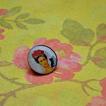 Odznaky/Brošne - Frida n.1  brož- průměr 25 mm - 7444884_