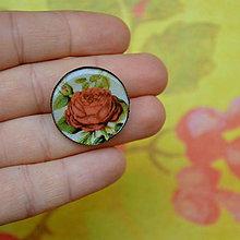 Odznaky/Brošne - Roses  - brož průměr 25 mm - 7445396_