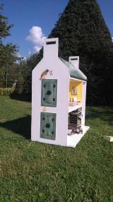 Hračky - domček pre bábiky zelený - 7442848_