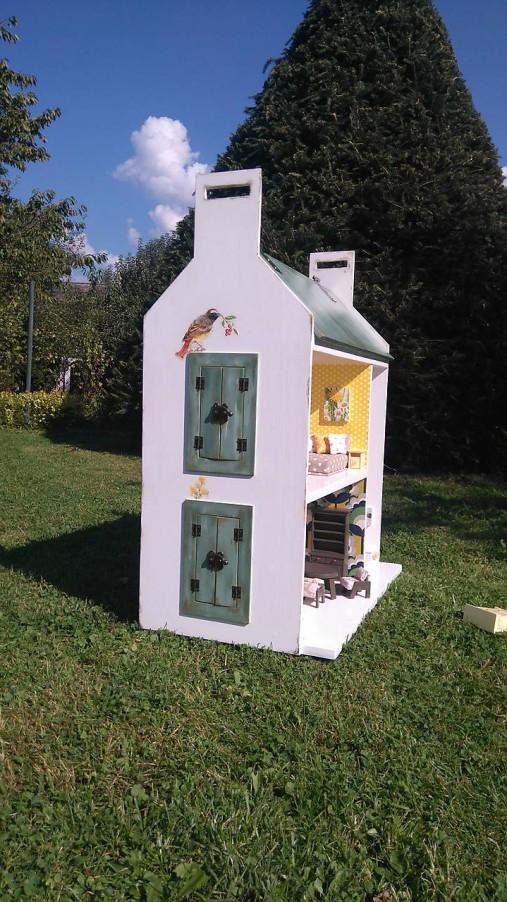 domček pre bábiky zelený
