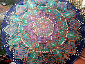 Dekorácie - Mandala uzdravenia tela i duše II. - 7442821_