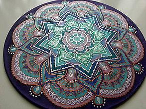 Dekorácie - Mandala zmierenia a vnútorného pokoja - 7443258_