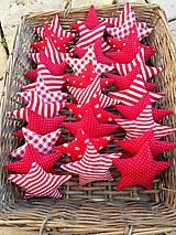 Dekorácie - Hviezdička, ... vianočná ozdoba na stromček - 7442662_