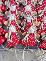Dekorácie - Mini anjelik, ... vianočná ozdoba na stromček - 7442687_