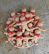 - Perníček Gingerko, ... vianočná ozdoba na stromček - 7442858_