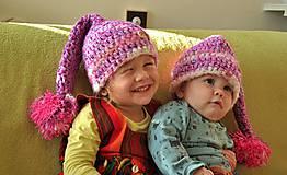 Detské čiapky - skriatkove - 7445741_