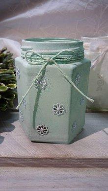 Svietidlá a sviečky - Romantický svietniček - 7444994_
