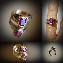 Prstene - skovaný plameň - 7448729_