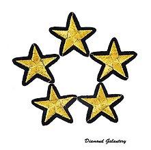 Galantéria - Nažehľovačka hviezda - 42x40 mm - 7447913_