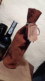 Iné tašky - Darčekový mešec na fľaše - 7450720_