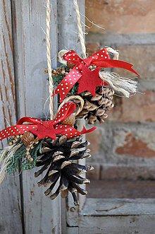 Dekorácie - Len tak tak: Vianočné dekorácie - 7448478_