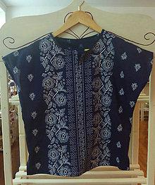 Topy - Blúzka s krátkym rukávom - modrá - 7452361_