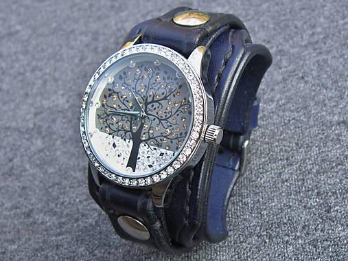 Dámske hodinky kožený remienok námornícka modrá   leon - SAShE.sk ... 77707f3d88