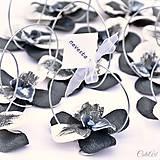 Polnočná orchidea - darčeky pre svadobných hostí/menovky