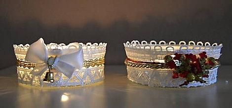 Svietidlá a sviečky - vianočné kahančeky - 7449545_