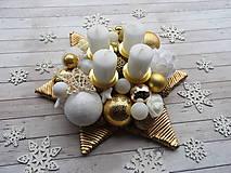 - Zlatá adventná hviezda - 7448181_