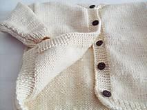 Detské oblečenie - svetríček zľava 20% - 7447480_