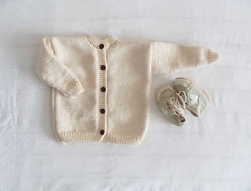 Detské oblečenie - svetríček zľava 20%  - 7447473_