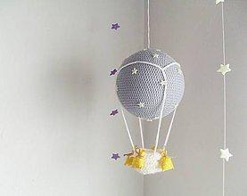 Hračky - balón s hviezdičkami - 7447650_