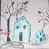 Obrazy - Zimička už prišla - 7446871_