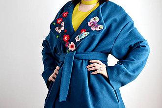Kabáty - Letný kabát na zimu - 7447947_