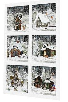 Textil - Vánoční bavlněný panel či sada US58 - 7455223_