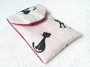 Na mobil - Obal na mobil s mačičkami - 7457418_