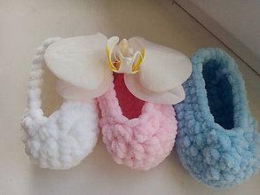 Topánočky - Softie- cena za 2 páry - 7453680_