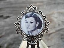 - Záložka do knihy Audrey Hepburn - 7455428_