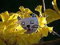 Odznaky/Brošne - Zlatá mačí - 7457231_